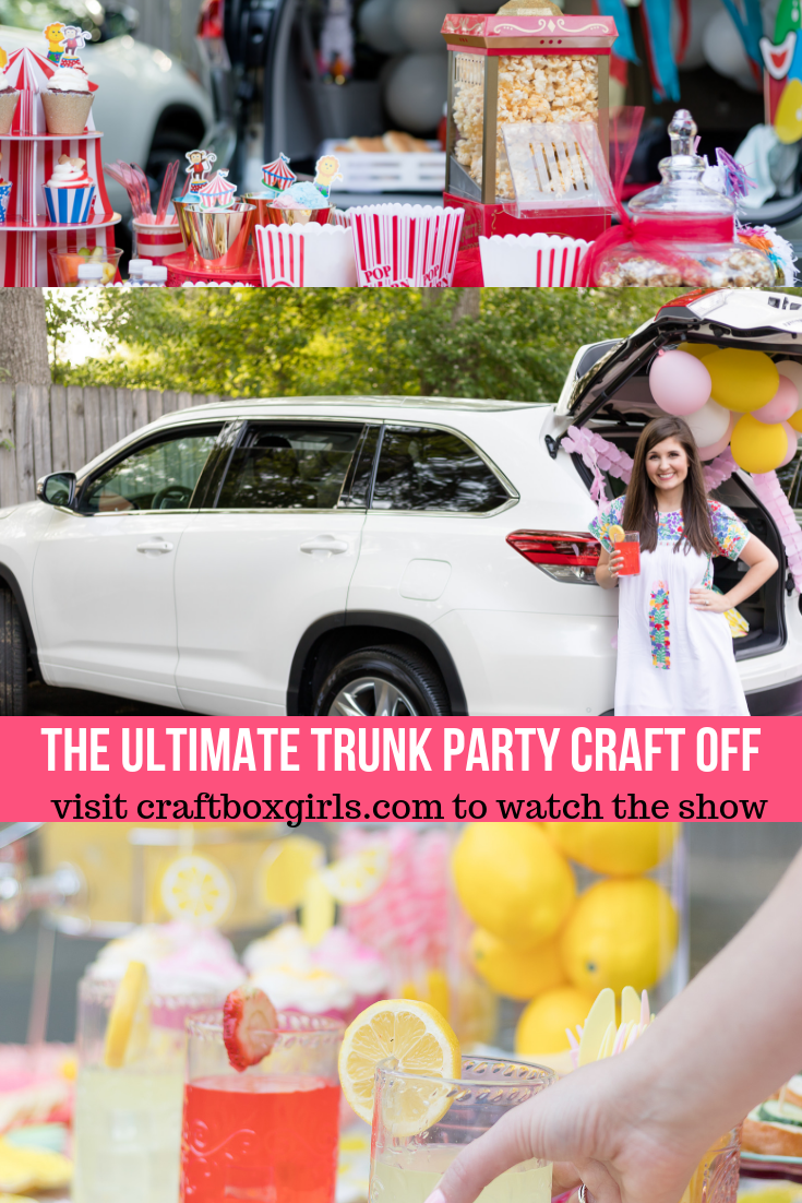Trunk Party Png - The Ultimate Trunk Party Craft Off | Craft Box Girls | Trunk party ...