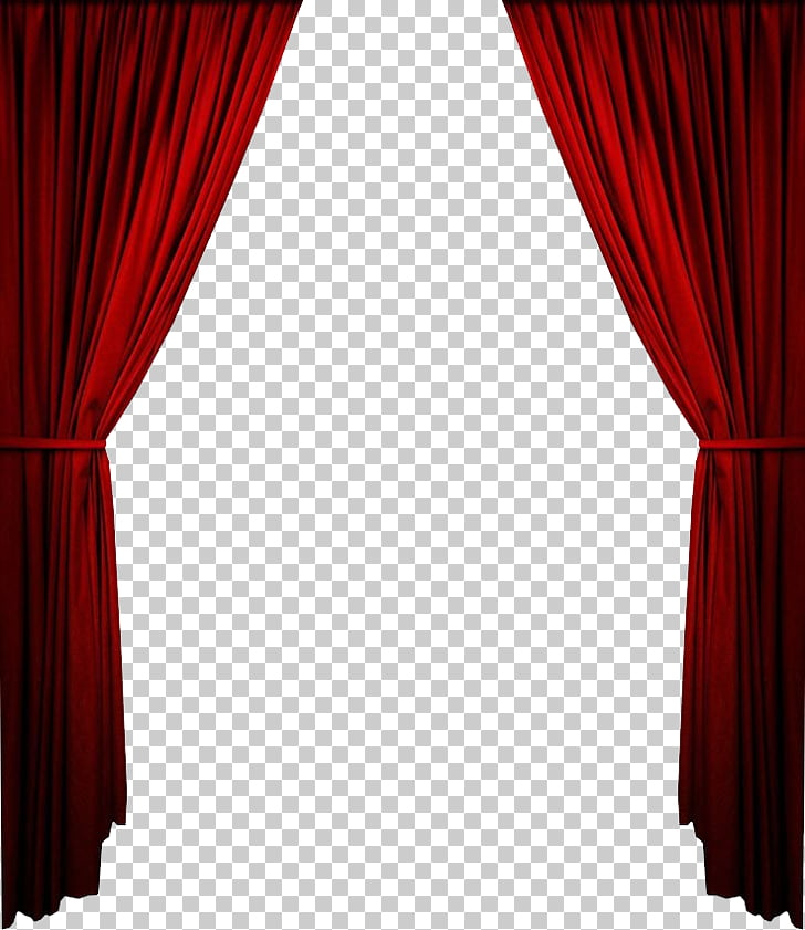Curtain Red Png - Theater drapes and stage curtains Window covering Shade, Curtains ...