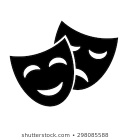 Drama Mask Png - Theater Mask Images, Stock Photos & Vectors | Shutterstock