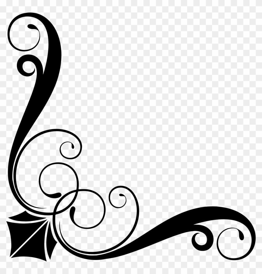 Ornament Design Png - This Free Icons Png Design Of Corner Ornament 6 By - Corner ...