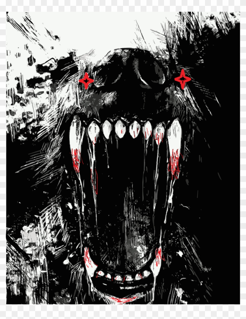 Wolf Teeth Png - This Free Icons Png Design Of Fangs Reworked - Wolf Teeth ...