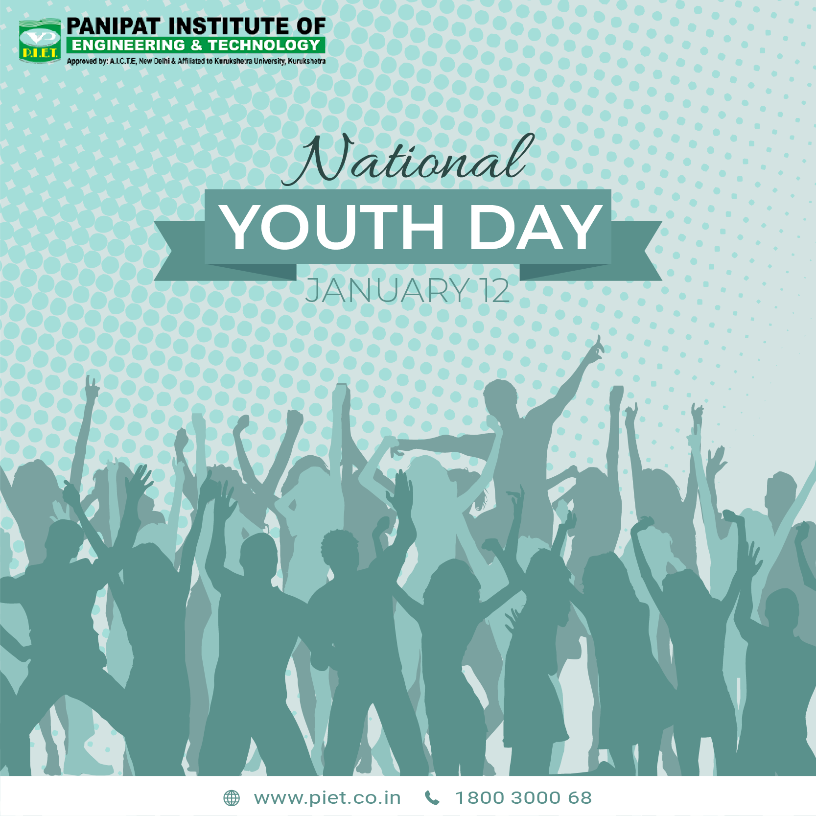 National Youth Day Png - This National Youth Day, we take the pledge to support the youth ...