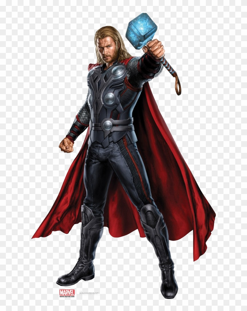 Hd Marvel Png - Thor - Avengers, HD Png Download - 697x1 #727813 - PNG Images - PNGio