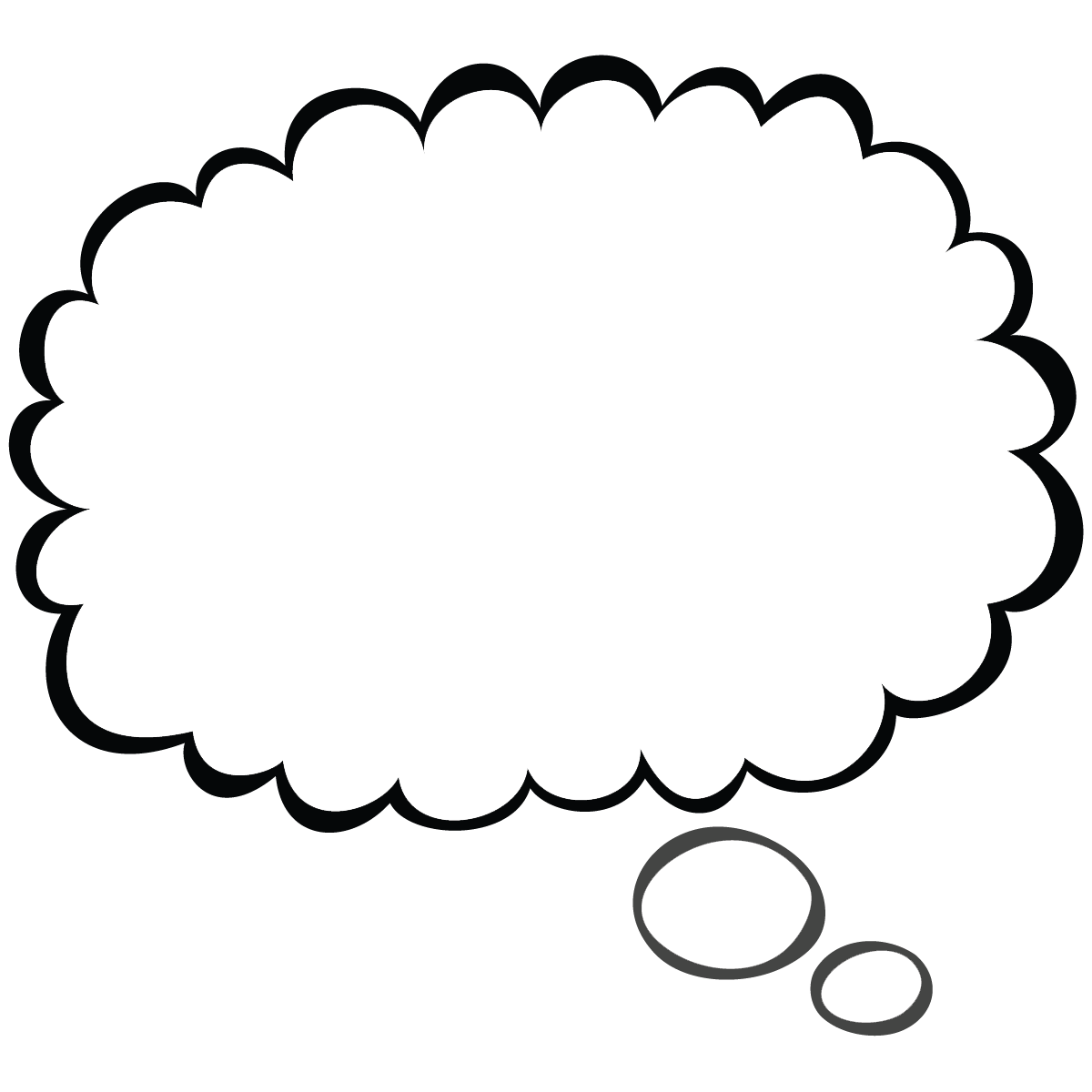 Quote Bubble Png - Thought Bubble PNG Transparent Images | PNG All