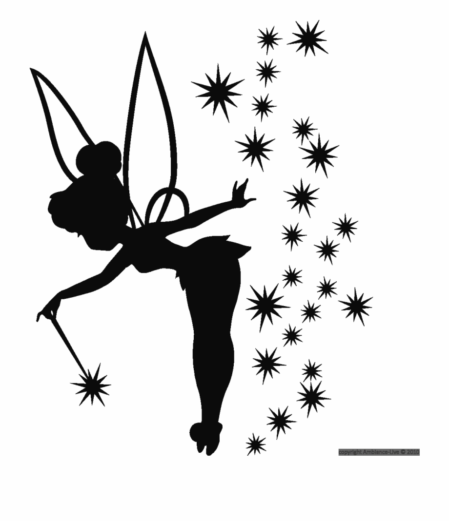 Tinkerbell Live Png - Tinkerbell Silhouette Png, Transparent Png (1298651 ) | Free PNG ...