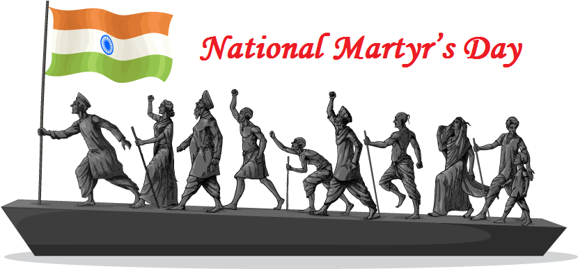 Martyrs Day In India Png - Today National Martyr's Day. Let all us respect for each & every ...