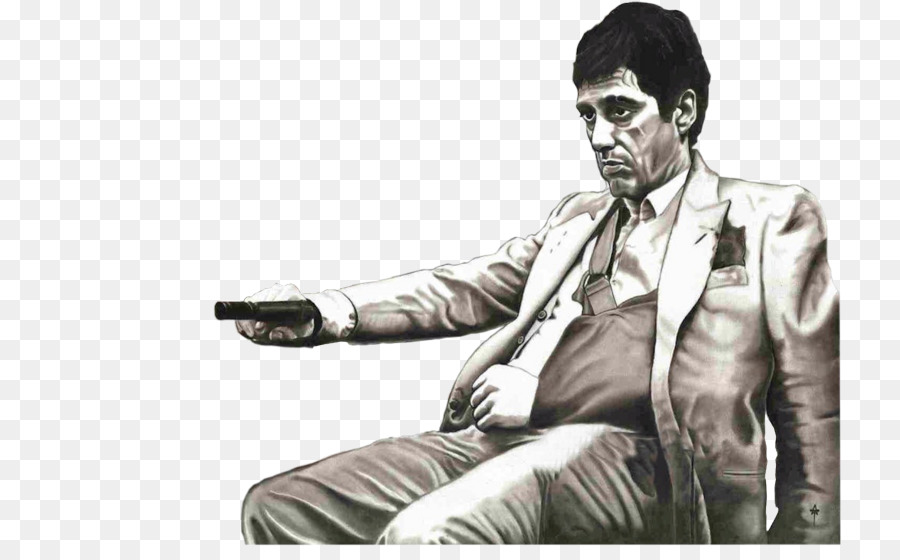 Scarface Png - Tony Montana YouTube Scarface: Money. Power. Respect. Painting ...