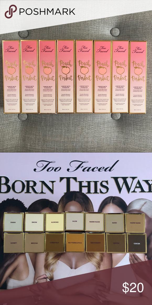 Too Faced Peach Perfect Foundation Png Free Too Faced Peach Perfect Foundation Png Transparent Images 153674 Pngio