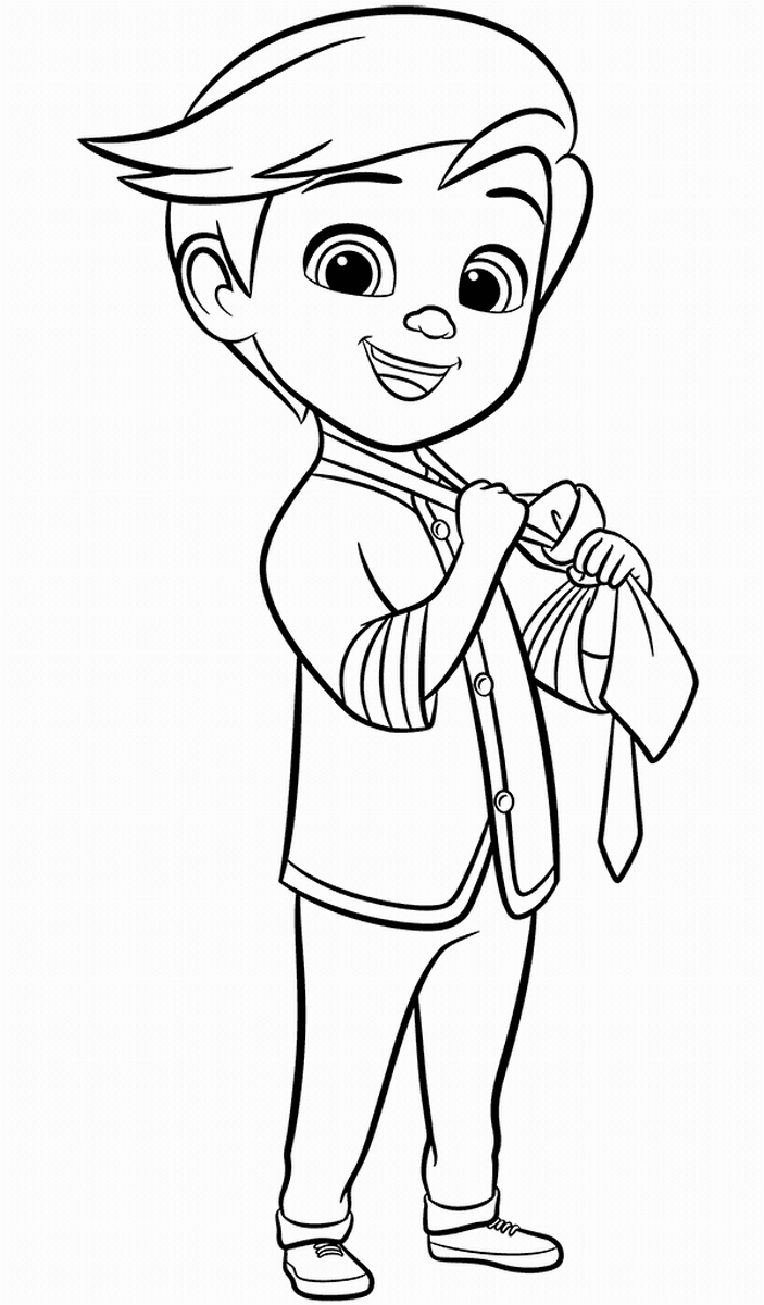 - Top 10 The Boss Baby Coloring Pages Ba #1395417 - PNG Images - PNGio