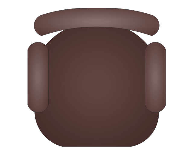 Top View Chair Clipart Png #2160158 - PNG Images - PNGio