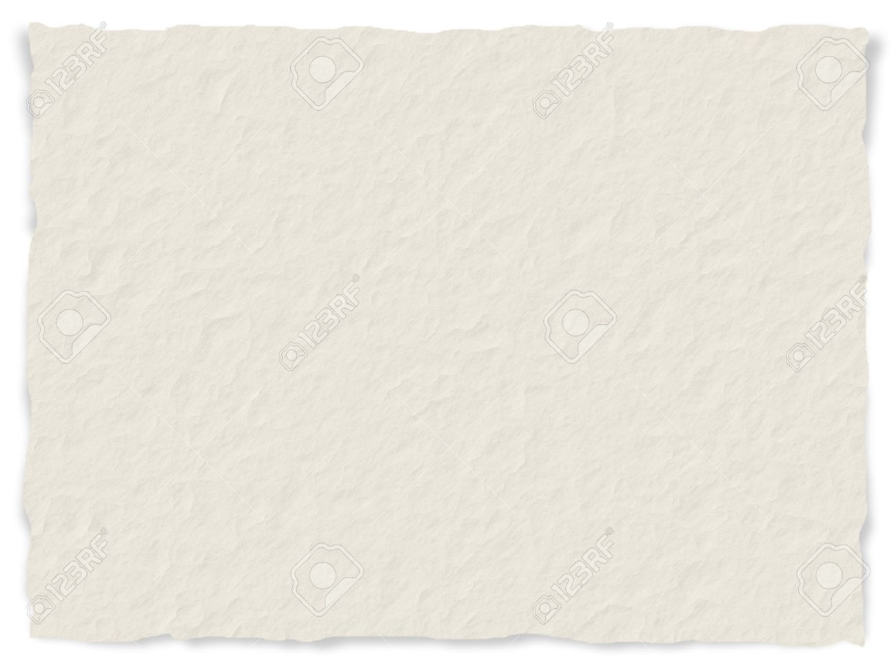 Torn Paper Texture - Torn Paper Texture With Frayed Edges - Digital Generated Stock ...