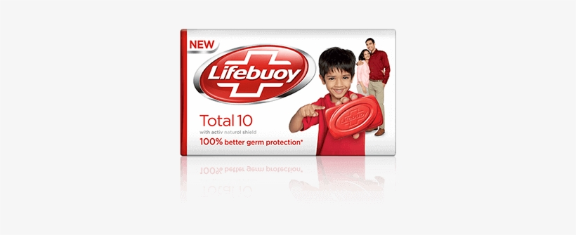 Lifebuoy Soap Png - Total 10 Germ Protection Soap Bar - Lifebuoy Total 10 Soap - Free ...