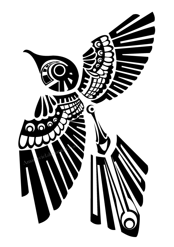 Totem Raven Png - Totem Drawing Raven Transparent & PNG Clipart Free Download - YWD