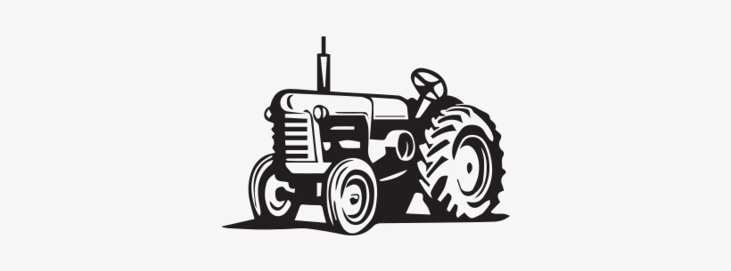 Tractor Drawing Png - Tractor Drawing Antique - Tractor Clipart PNG Image | Transparent ...