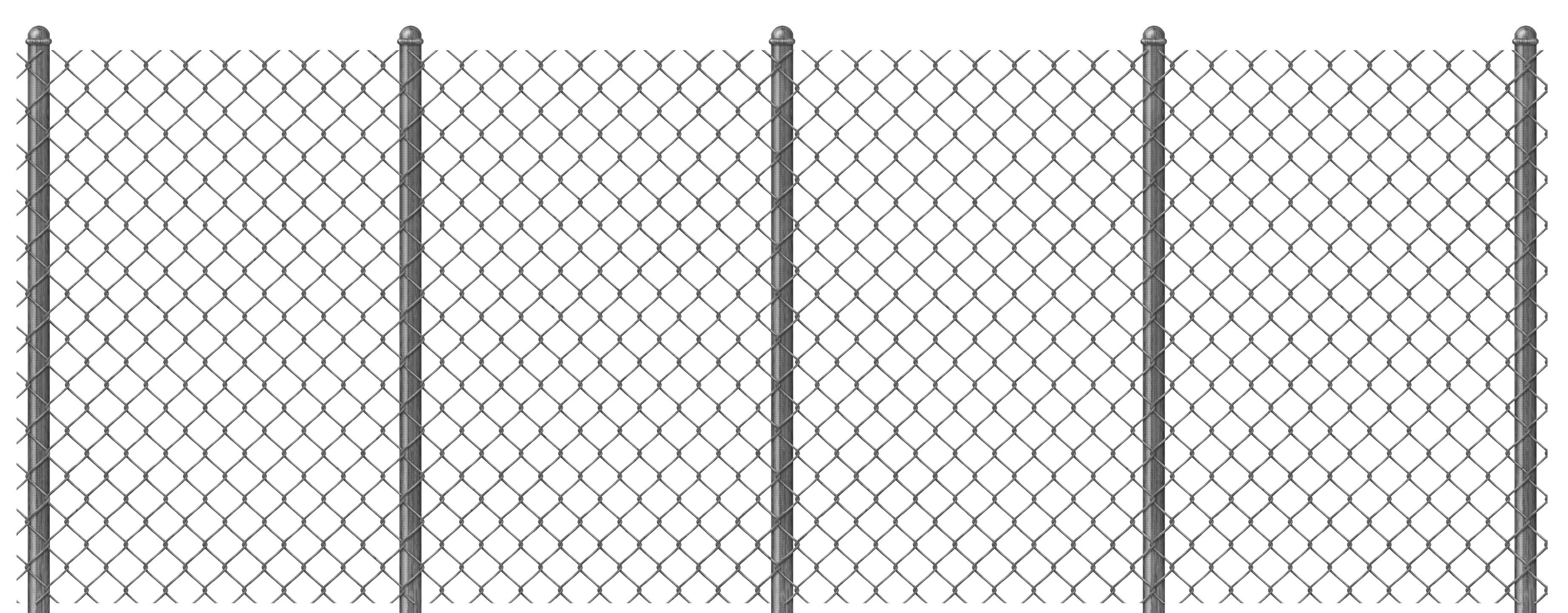 Metal Fence Png - Transparent Chain Link Fence PNG Clipart   Gallery Yopriceville ...
