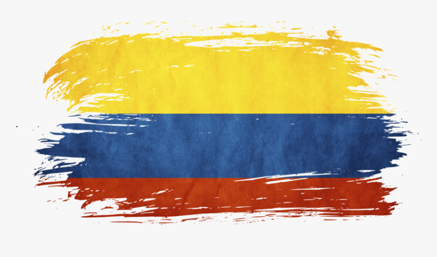 Flag Of Colombia Png - Transparent Colombian Flag, HD Png Download , Transparent Png ...