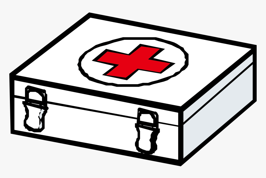 First Aid Cartoon Png - Transparent First Aid Png - First Aid Box Cartoon, Png Download ...