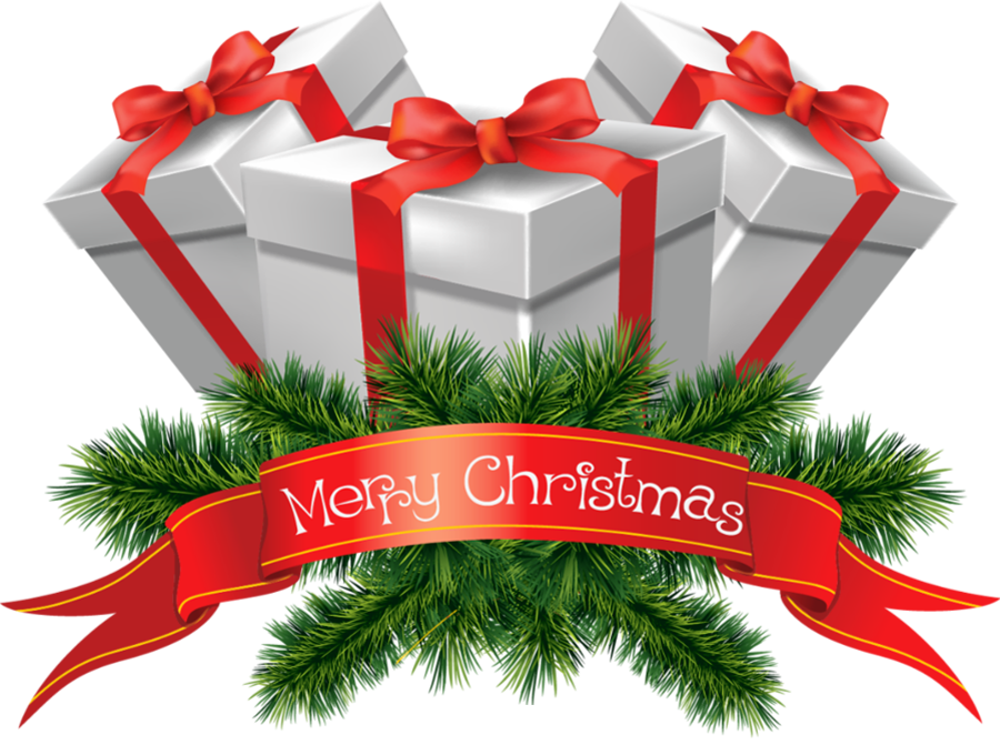 Christmas Presents Clipart.Transparent Merry Christmas Presents Cli 501949 Png