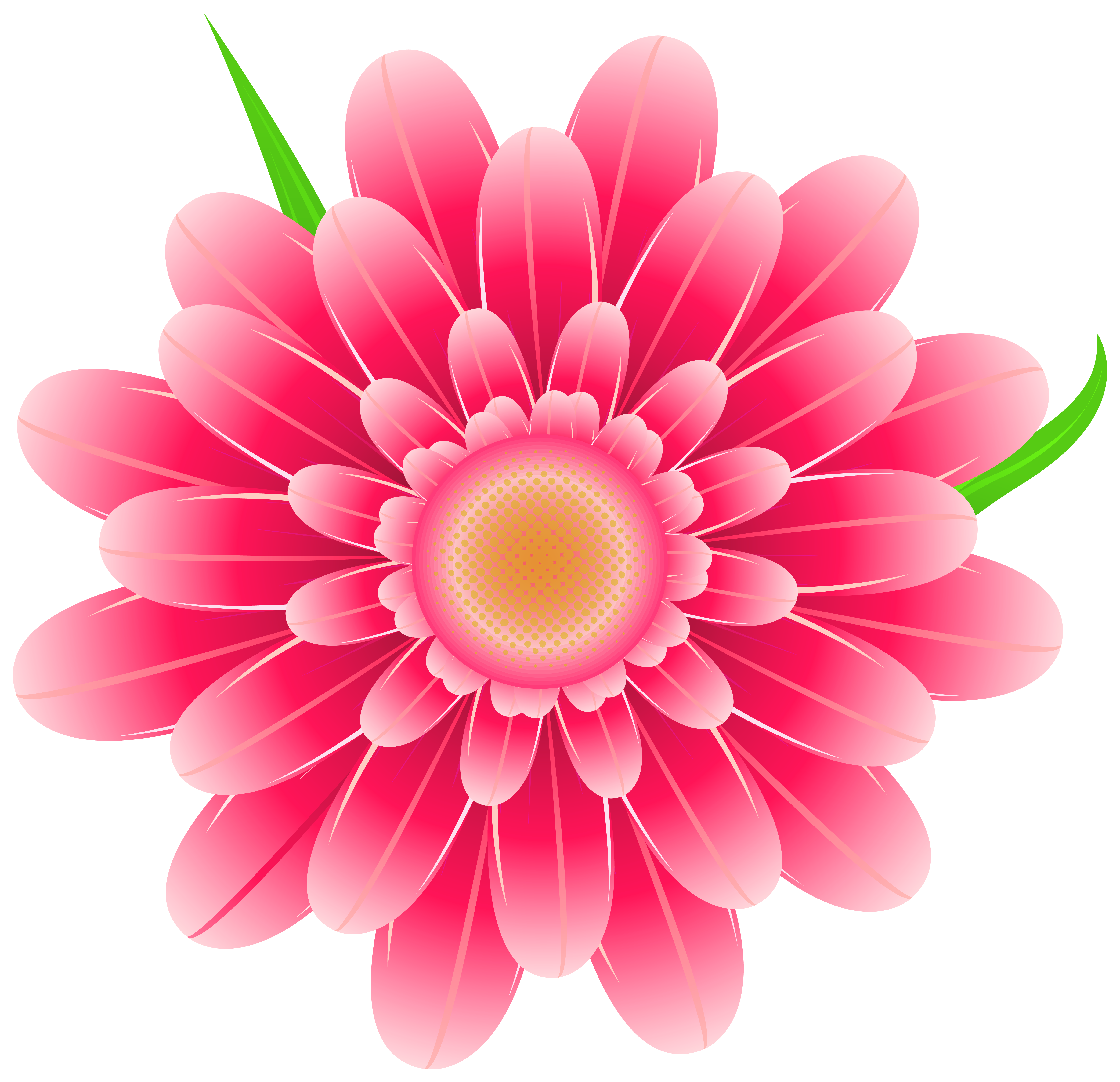 Flower Clipart Png - Transparent Pink Flower Clipart PNG Image | Gallery Yopriceville ...