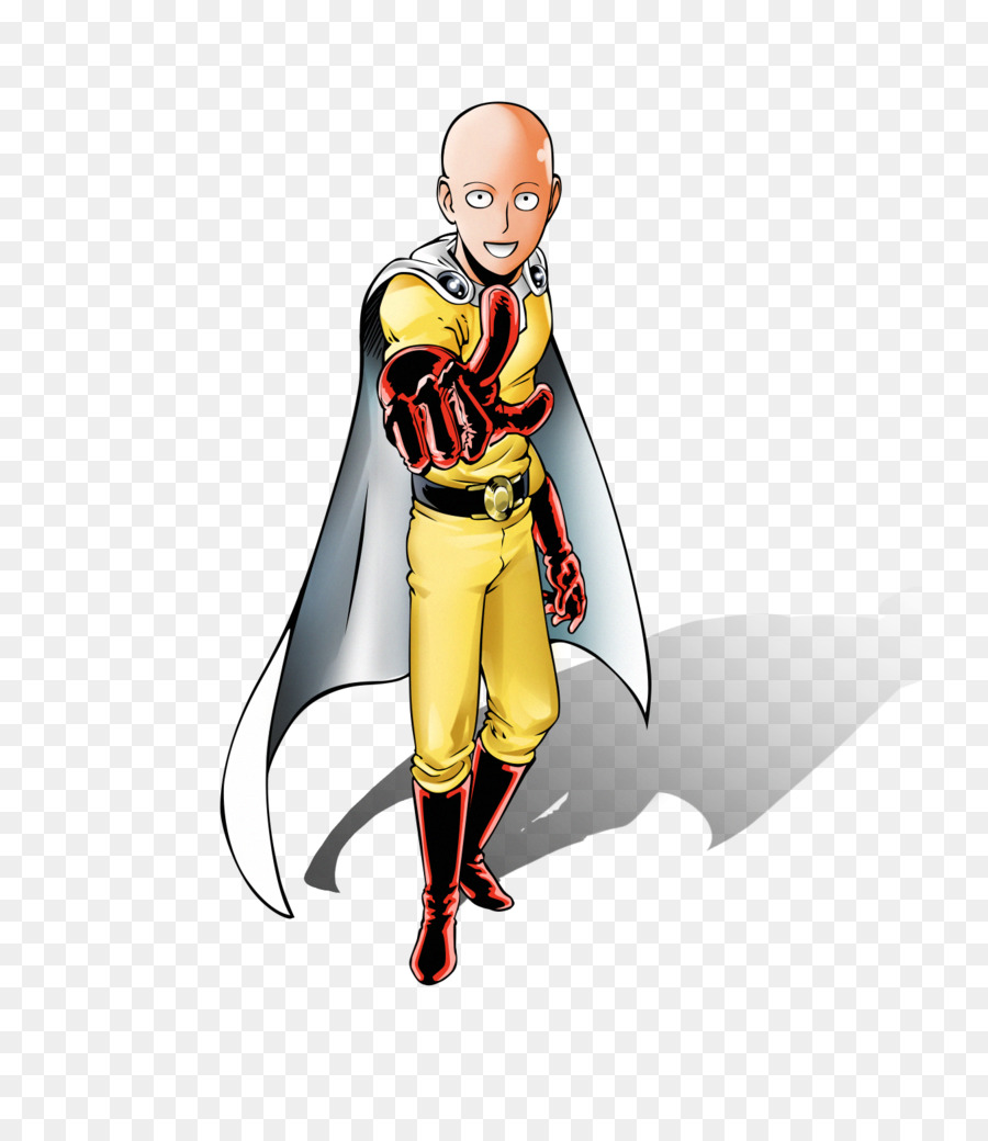 Anime One Punch Man Png - transparent png image & clipart free download