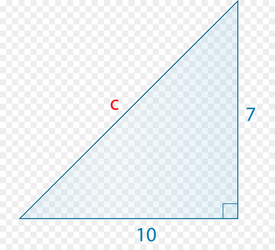 Pythagorean Theorem Png - Triangle Background png download - 777*808 - Free Transparent ...