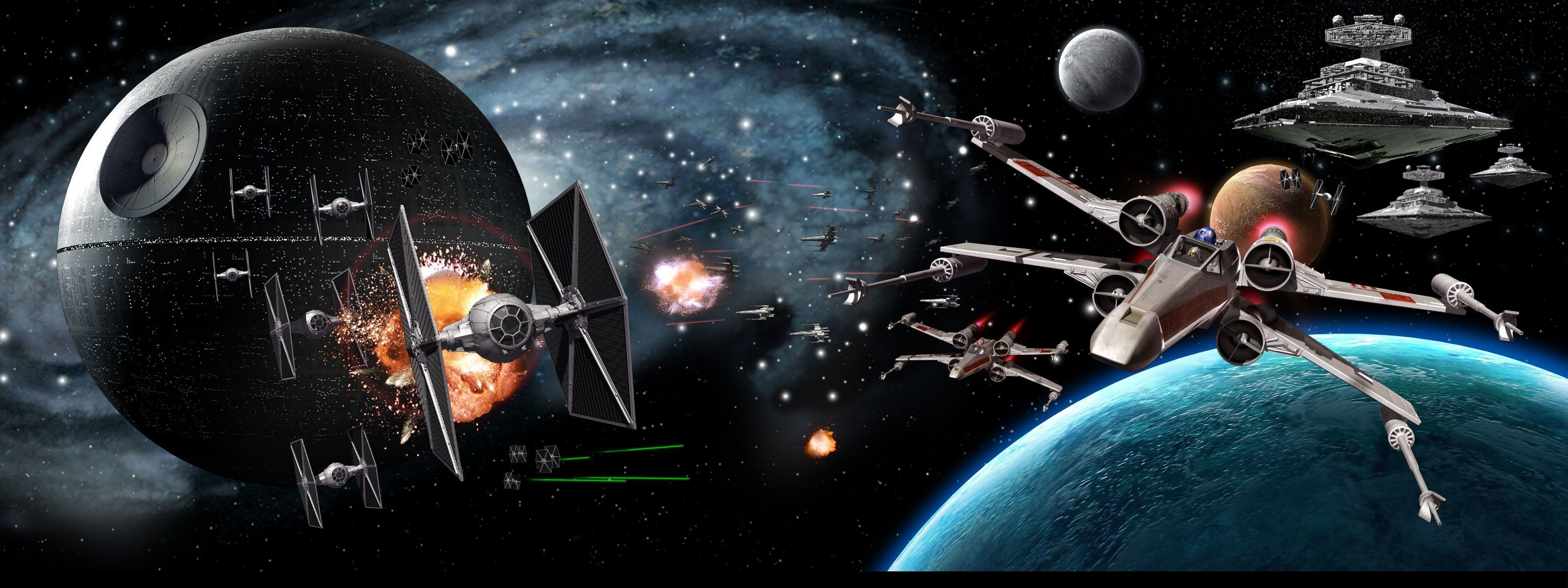 Triple Monitor Star Wars Png - Triple Monitor Star Wars Wallpaper (30 + Background Pictures)
