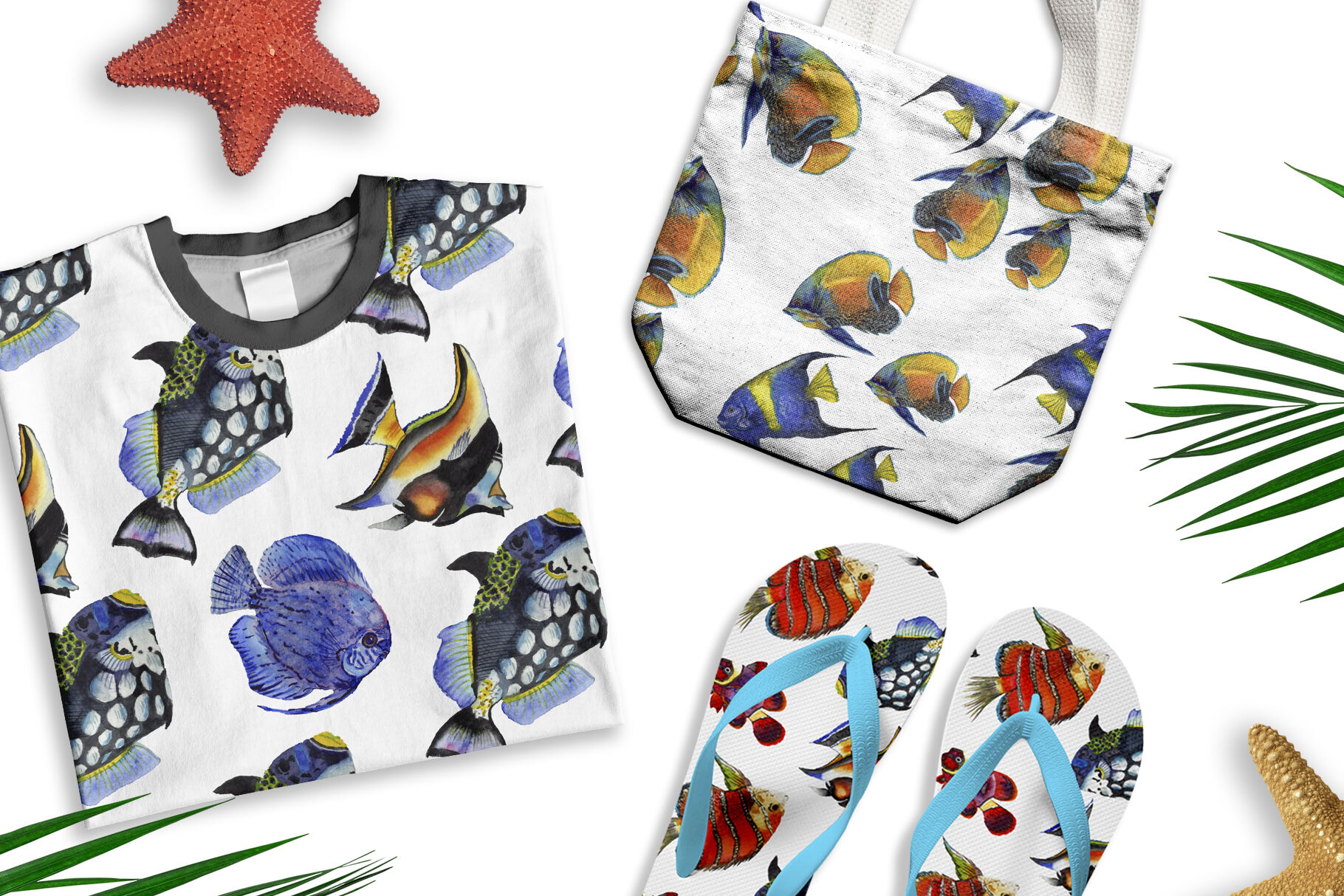 Tropical Fish Watercolor Png - Tropical fish watercolor png By MyStocks | TheHungryJPEG.com