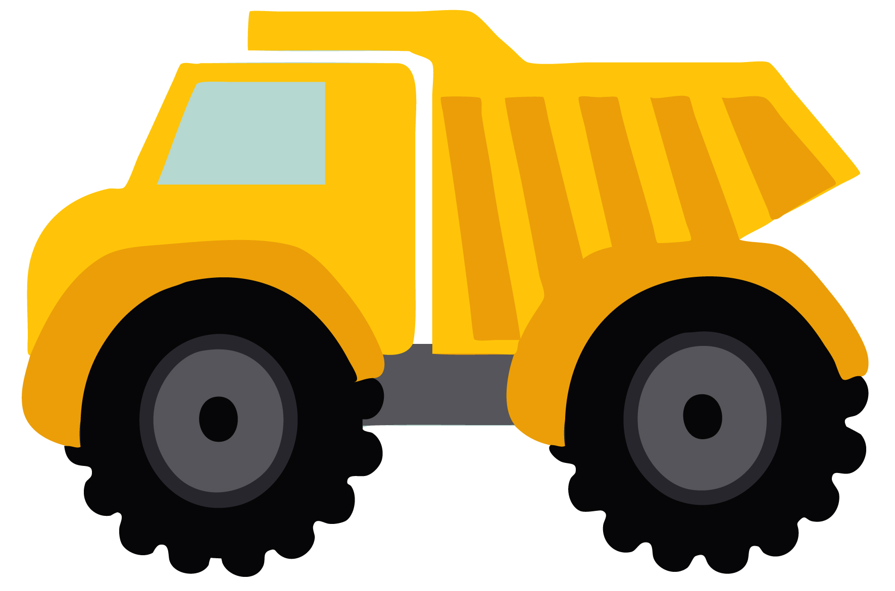 Road Construction Vehicle Png Black And White - Truck black and white semi truck clipart black and white free 2 ...