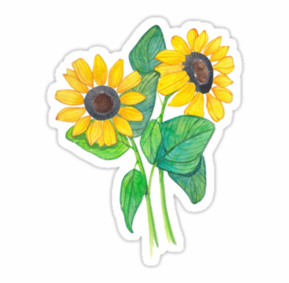 Flowers Stickers Png - Tumblr Flowers Sticker Png Picsart Stick #1297510 - PNG Images - PNGio