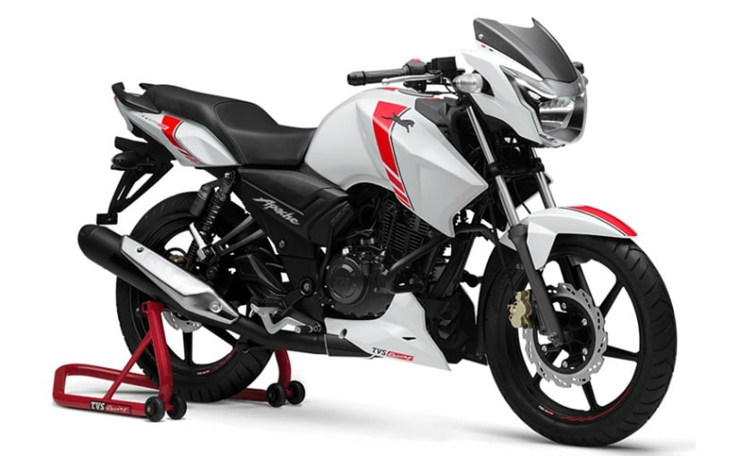 Tvs Apache Png - TVS Apache RTR 160 Race Edition Launched; Prices Start At Rs ...