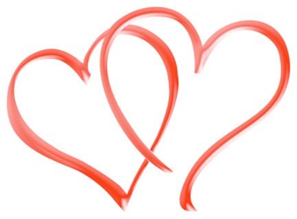 Coral Heart Png - Twin heart png 5 » PNG Image