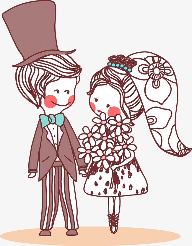 People Getting Married Png - Two People Get Married, People Vector, Marry, Wedding PNG and ...