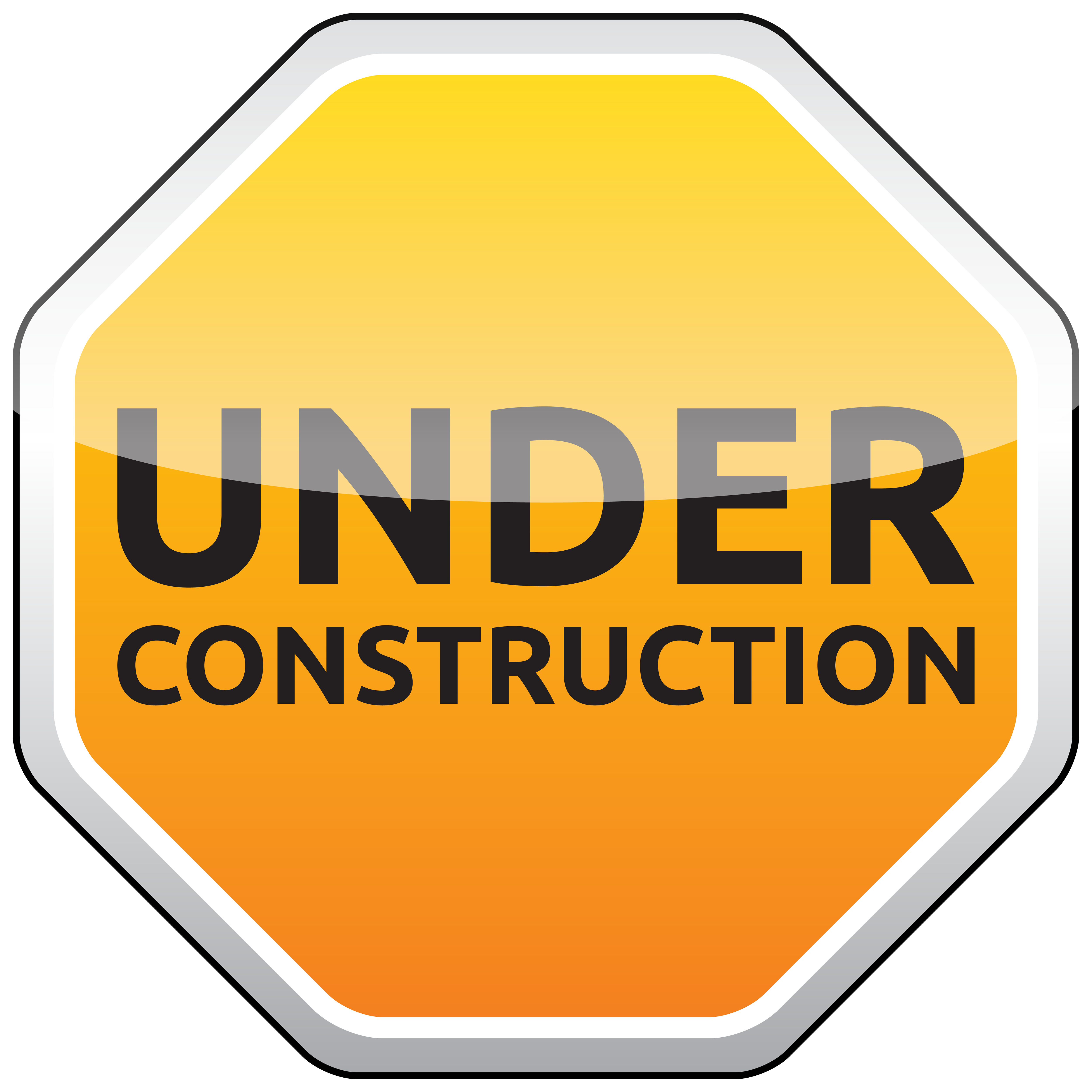 Under Construction Png - Under Construction Sign PNG Clipart