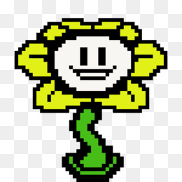 Undertale Flowey Png - Undertale Flowey png free download - Flowers Clipart Background ...