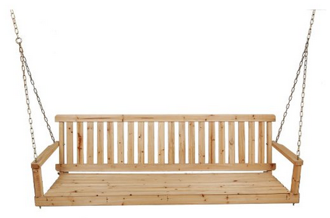 Porch Swing Png - Unfinished Porch Swing For $76.33 Shipped - SheSaved®