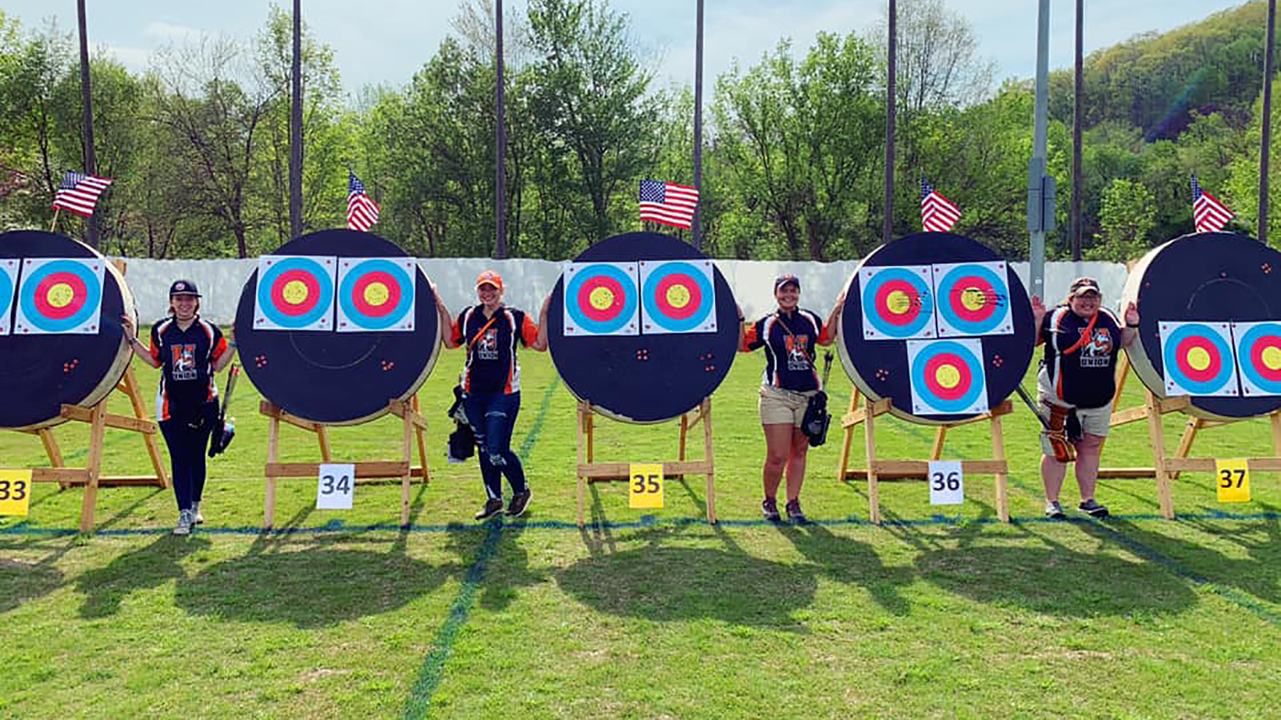 Outdoor Archery Women Png - Union Archery Collects 10 Medals, 8 All-Region Honors   Union ...