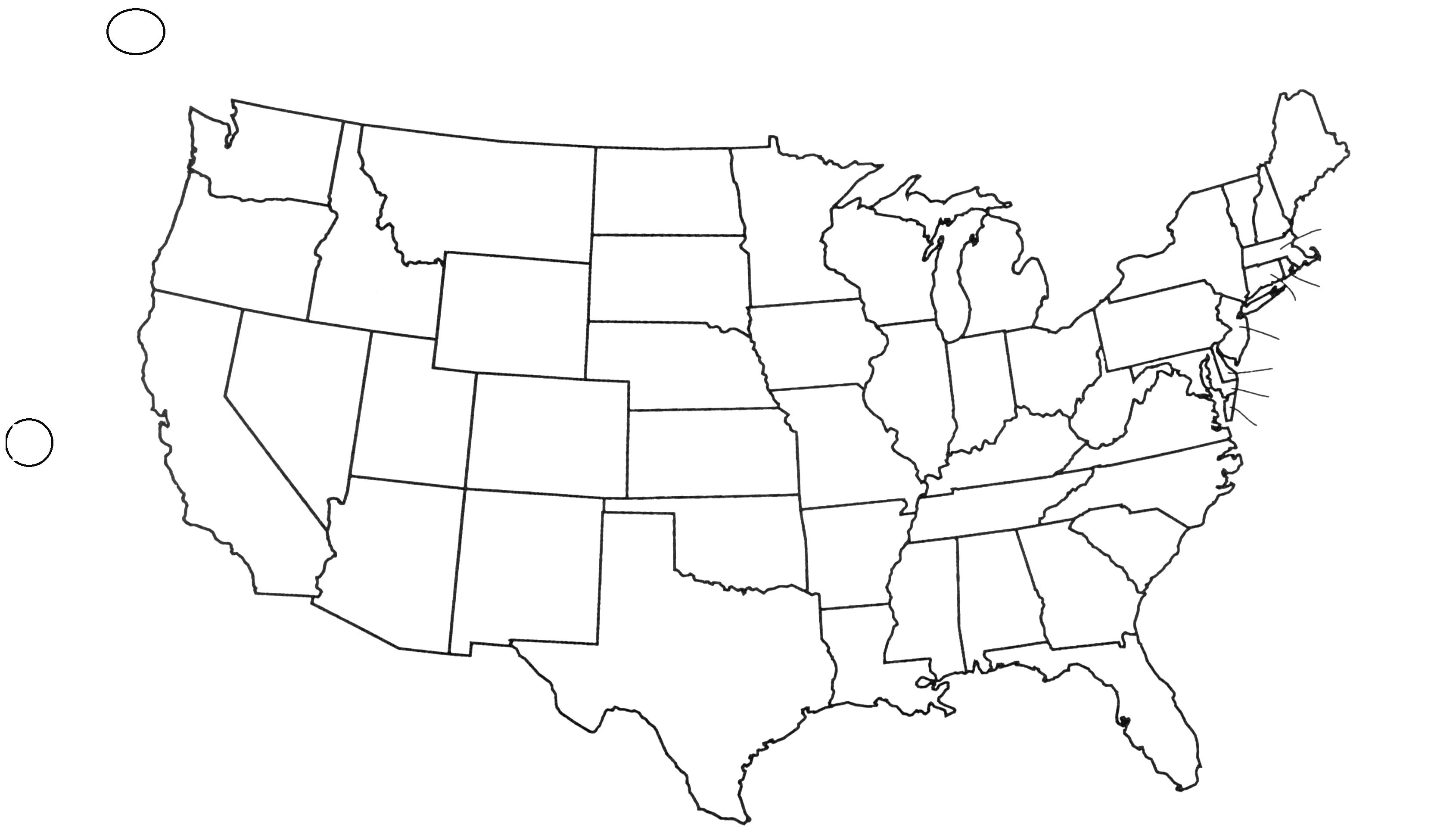 Black And White United States Map United States Outline Png Black And White & Free United States