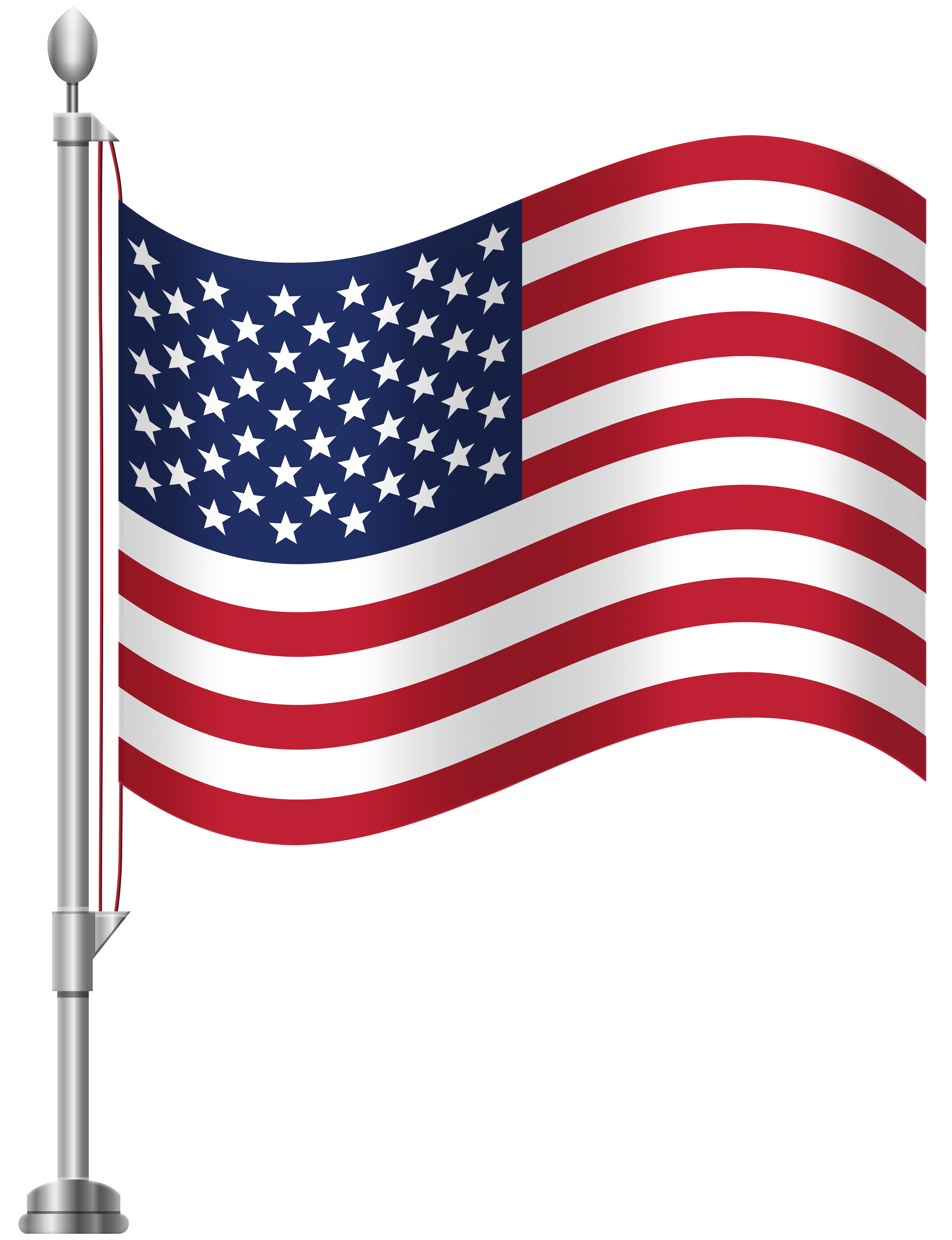 American Flag Png - United States of America Flag PNG Clip Art