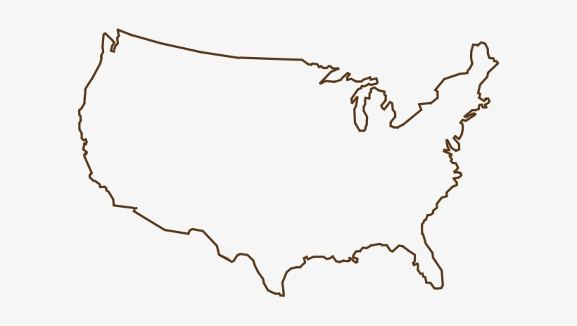 Usa Map Outline Png & Free Usa Map Outline.png Transparent Images ...