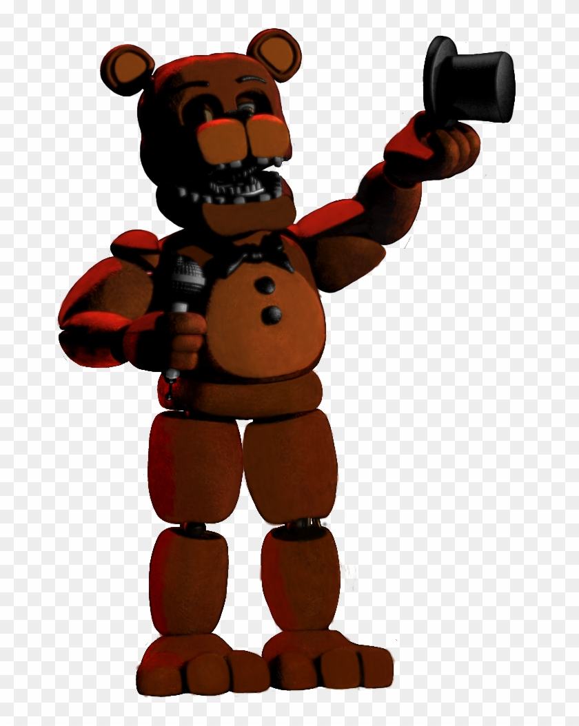 Scary Fnaf Png - Unwithered Freddy Fnaf 2 Something Scary, Fnaf Characters, - Fnaf ...