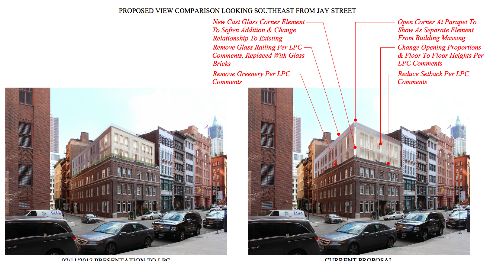 Hudson Street Png - Updated Design for 50 Hudson Street Heads to LPC, Tribeca - New ...
