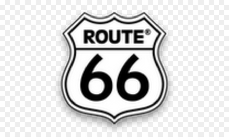 Route 66 Sign Png - U.S. Route 66 Sign Road Sticker Logo - road png download - 535*535 ...