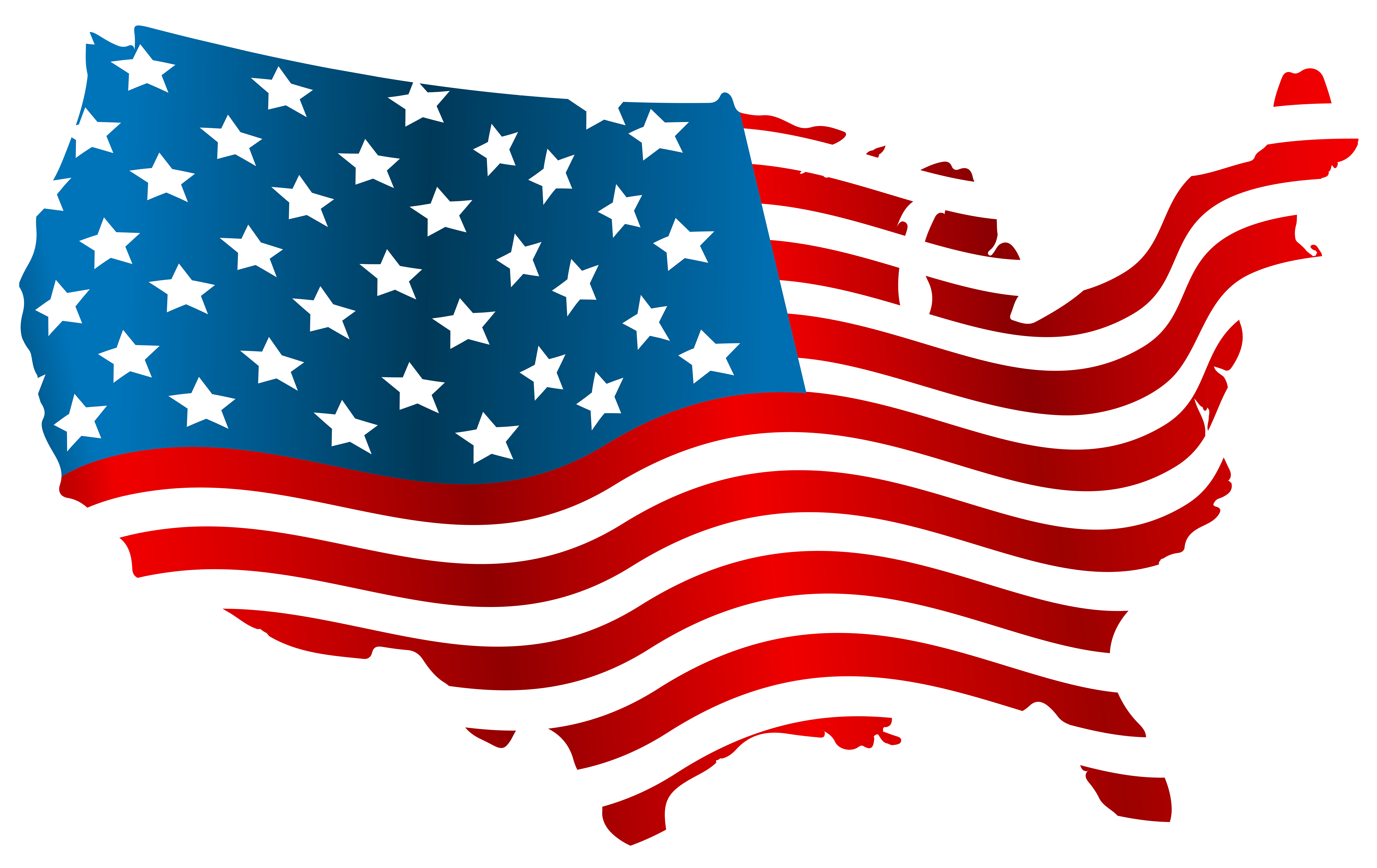 United States Of America Flag Png - USA Flag Map PNG Clip Art Image | Gallery Yopriceville - High ...