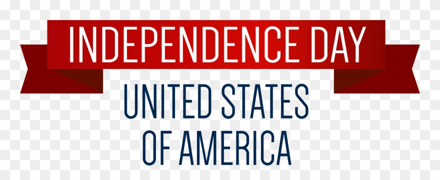 American Independence Day Png - Usa Independence Day Banner Png Clip Art Image - Banner ...