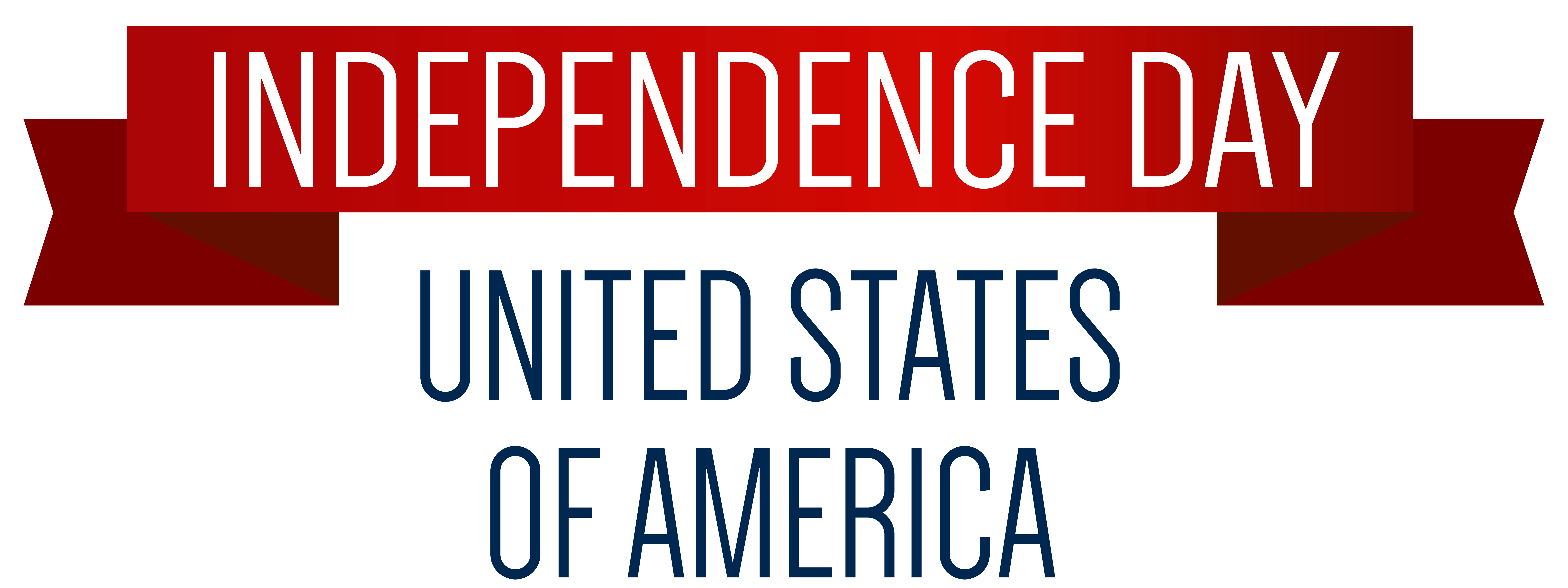 American Independence Day Png - USA Independence Day Banner PNG Clip Art Image   Gallery ...