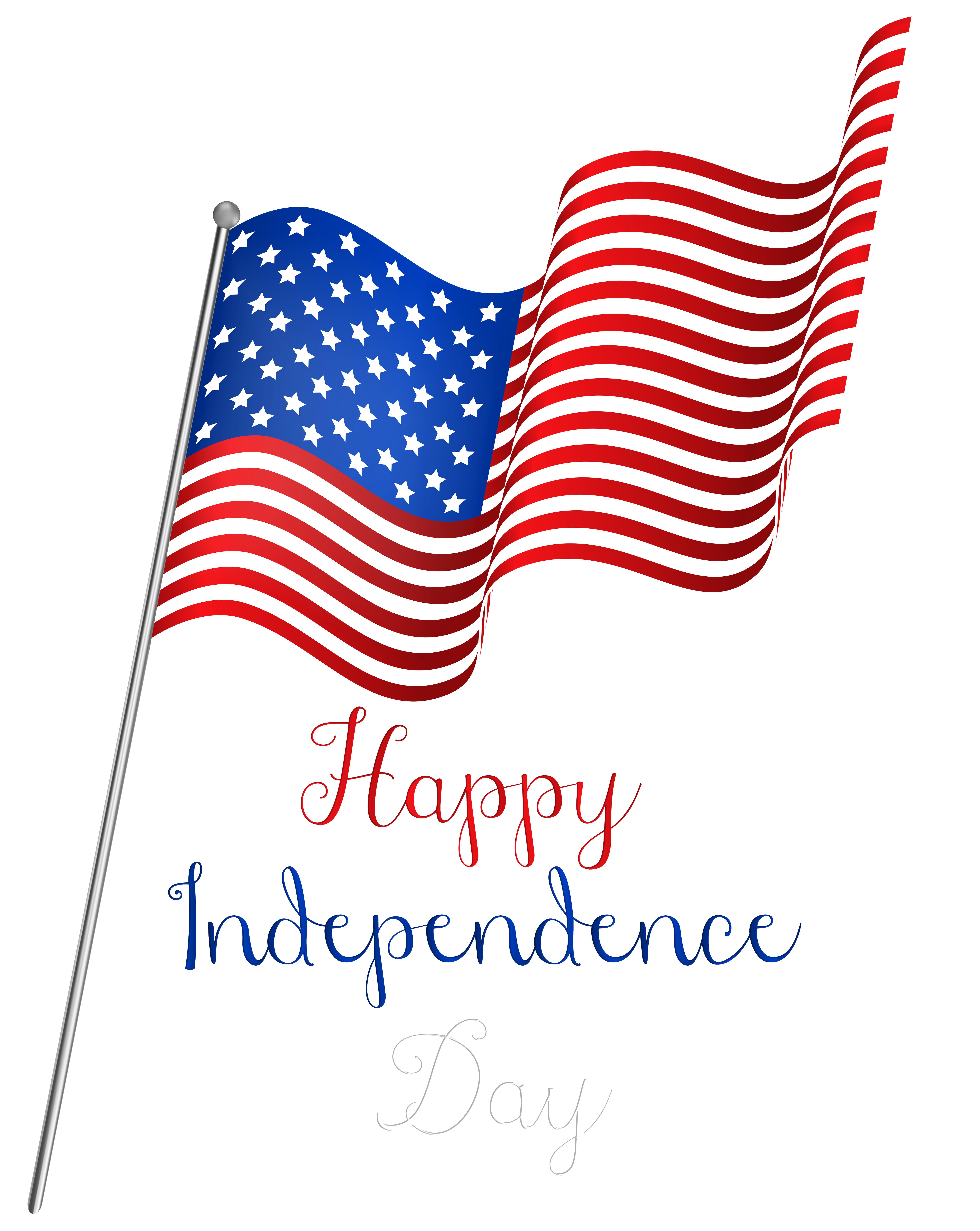American Independence Day Png - USA Independence Day Flag PNG Clipart | Gallery Yopriceville ...
