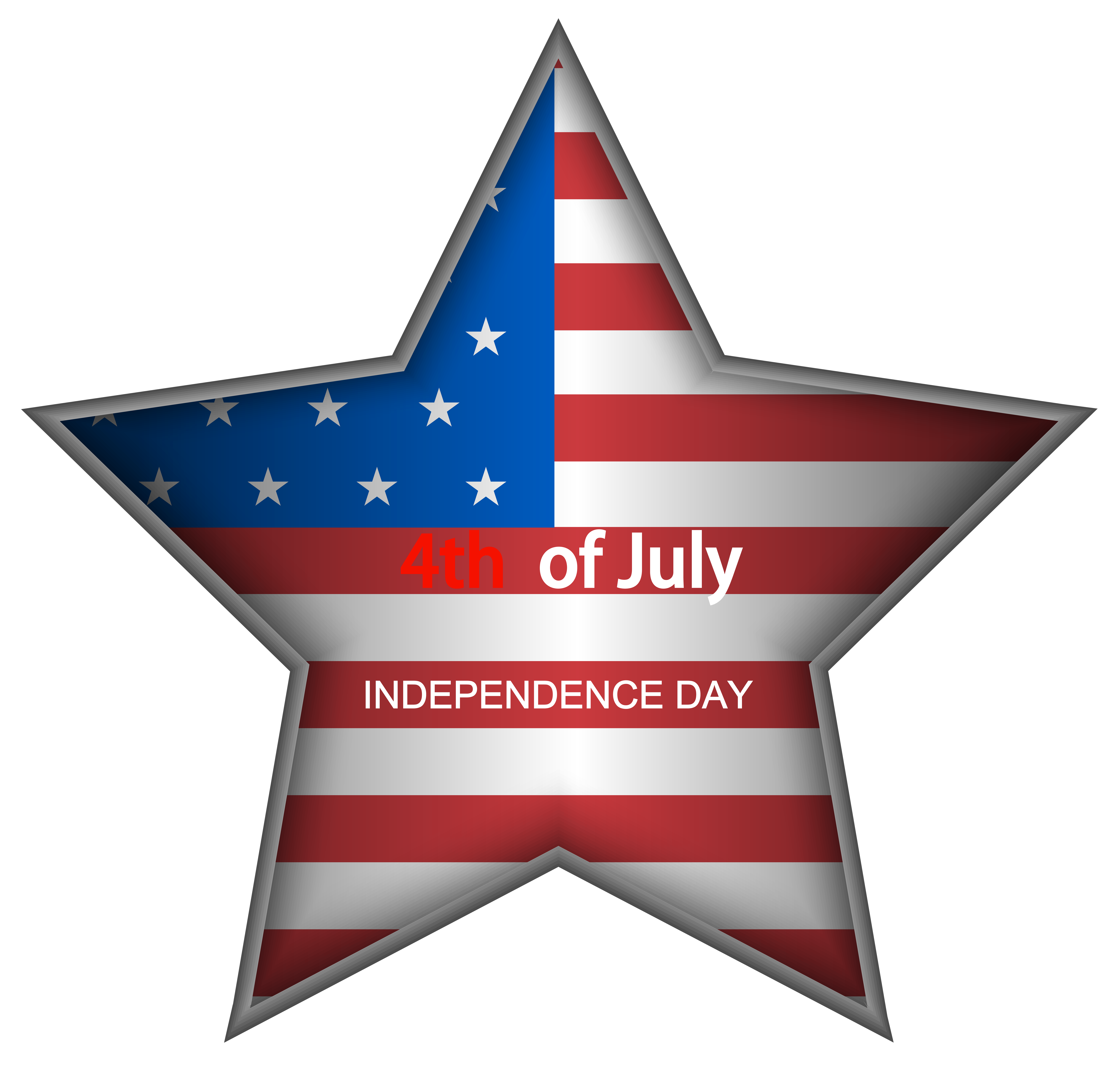American Independence Day Png - USA Independence Day Star PNG Clip Art Image | Gallery ...