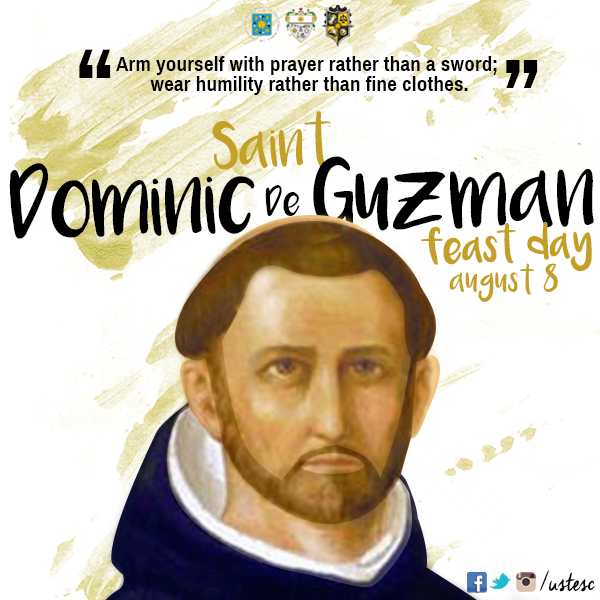 """St Dominic Png - UST Engineering SC on Twitter: """"Have a Blessed Feast of St ..."""