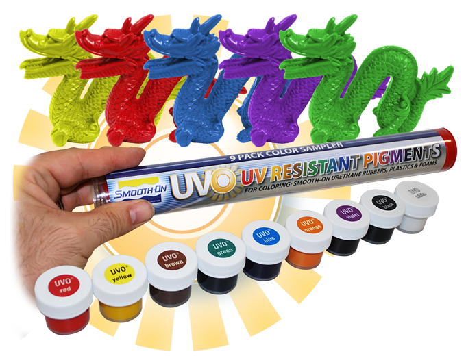 Color Pigments For Epoxy Png - UVO™, UV-Resistant Pigments for Urethane and Epoxy | Smooth-On, Inc.