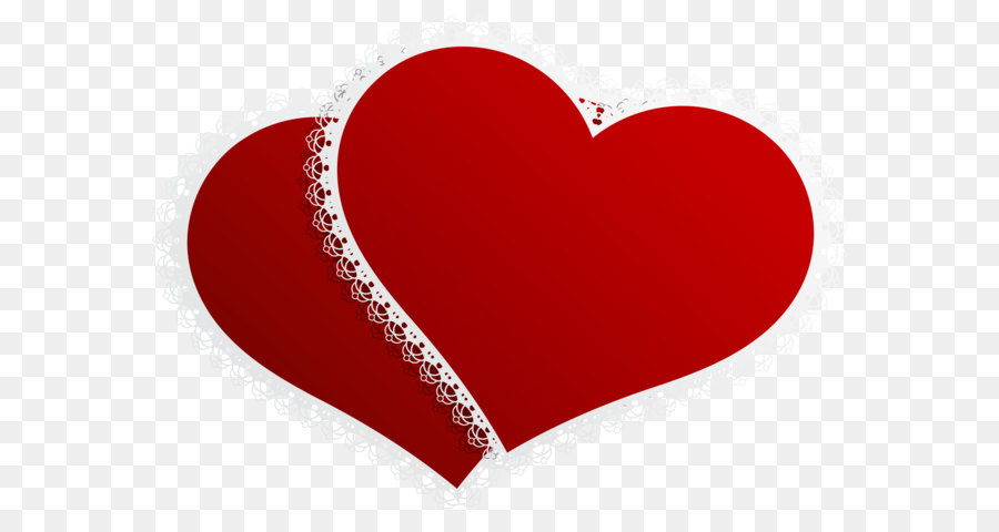 Double Heart Png - Valentine Double Hearts Decor PNG Clipart Picture png download ...